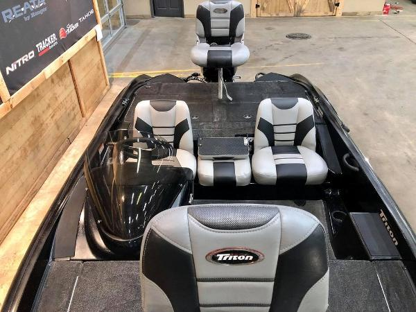 2014 Triton boat for sale, model of the boat is 17 Pro Series & Image # 8 of 18