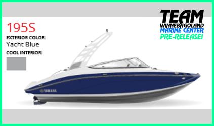 2021 YAMAHA 195S Yacht Blue
