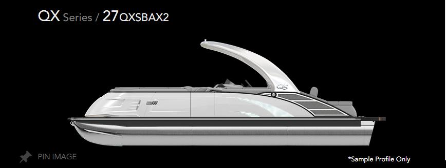 2022 Bennington 27 QXSB10Wx2 #702631 inventory image at Sun Country Inland in Irvine