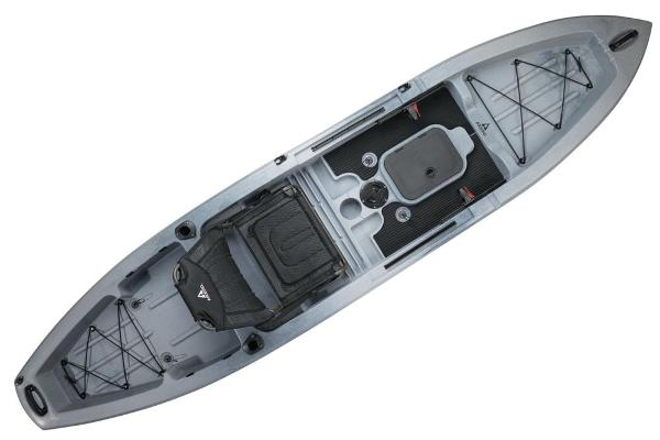 2021 Ascend boat for sale, model of the boat is 12T Sit-On - Titanium & Image # 5 of 6