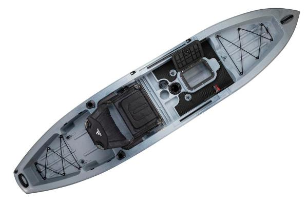 2021 Ascend boat for sale, model of the boat is 12T Sit-On - Titanium & Image # 6 of 6