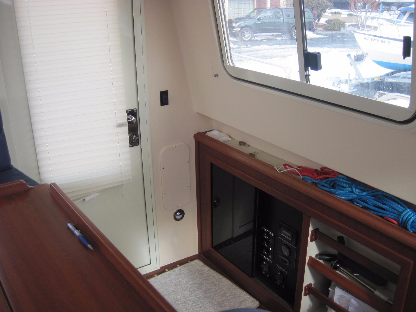 Storage in Pilot House