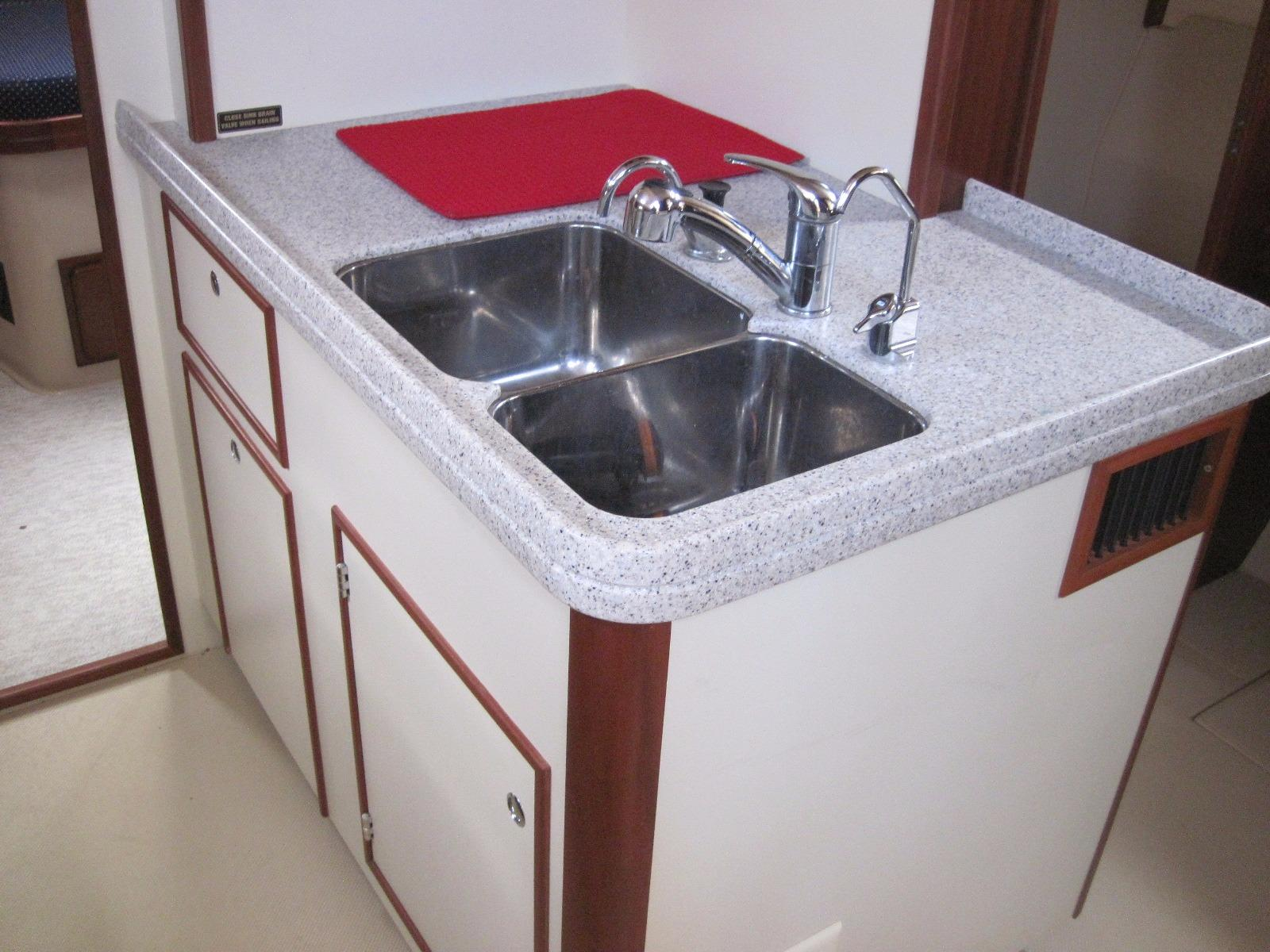 Galley SS Sink With Storage