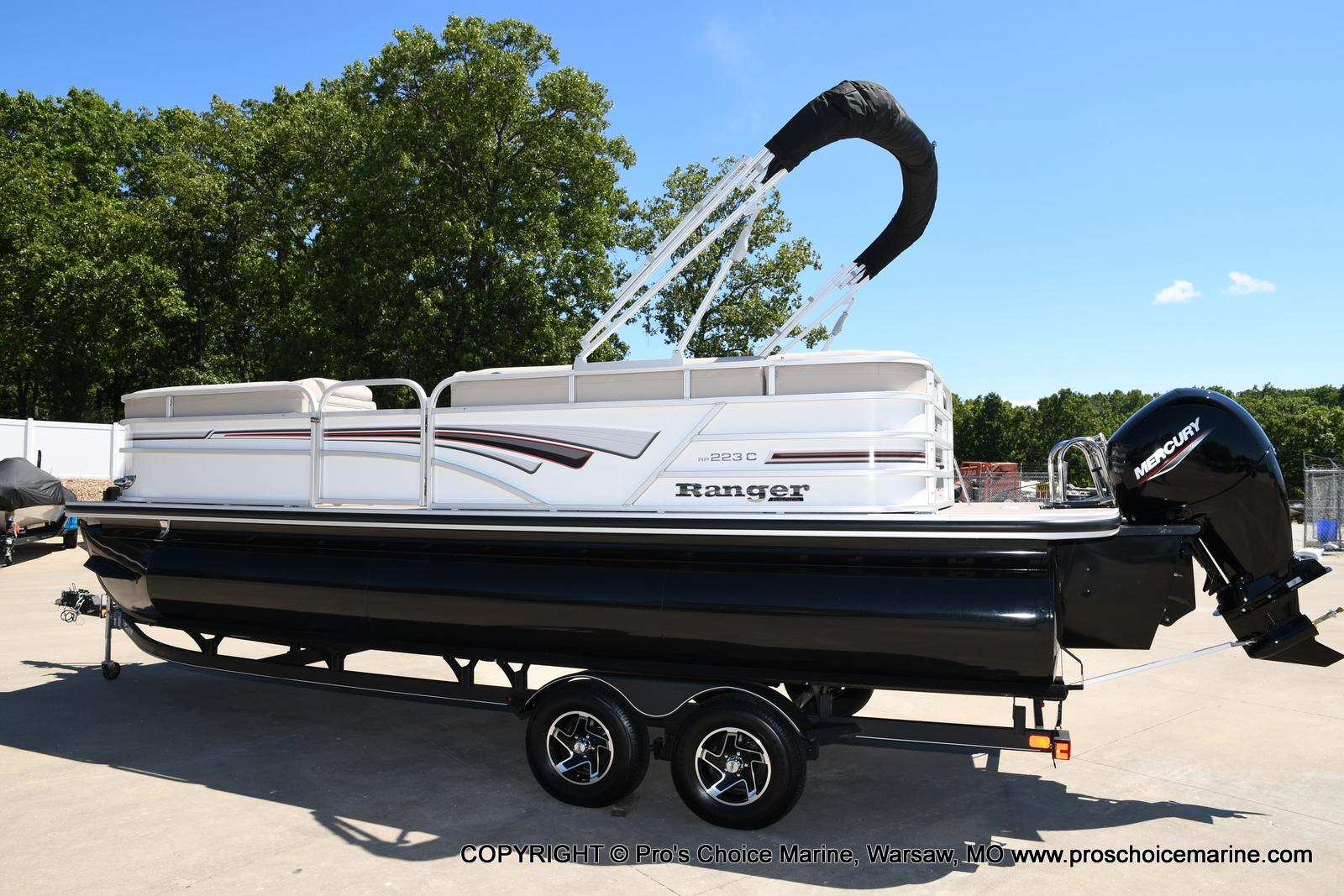 2021 Ranger Boats boat for sale, model of the boat is 223C TRIPLE LOG & Image # 32 of 50