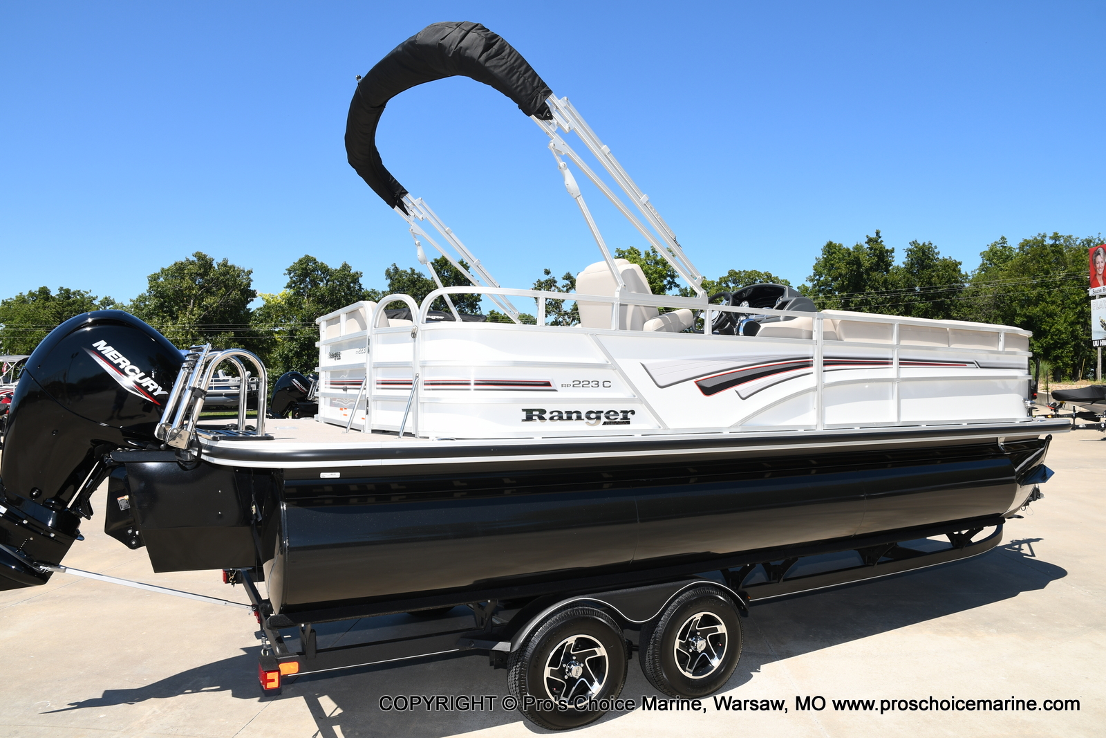 2021 Ranger Boats boat for sale, model of the boat is 223C TRIPLE LOG & Image # 30 of 50