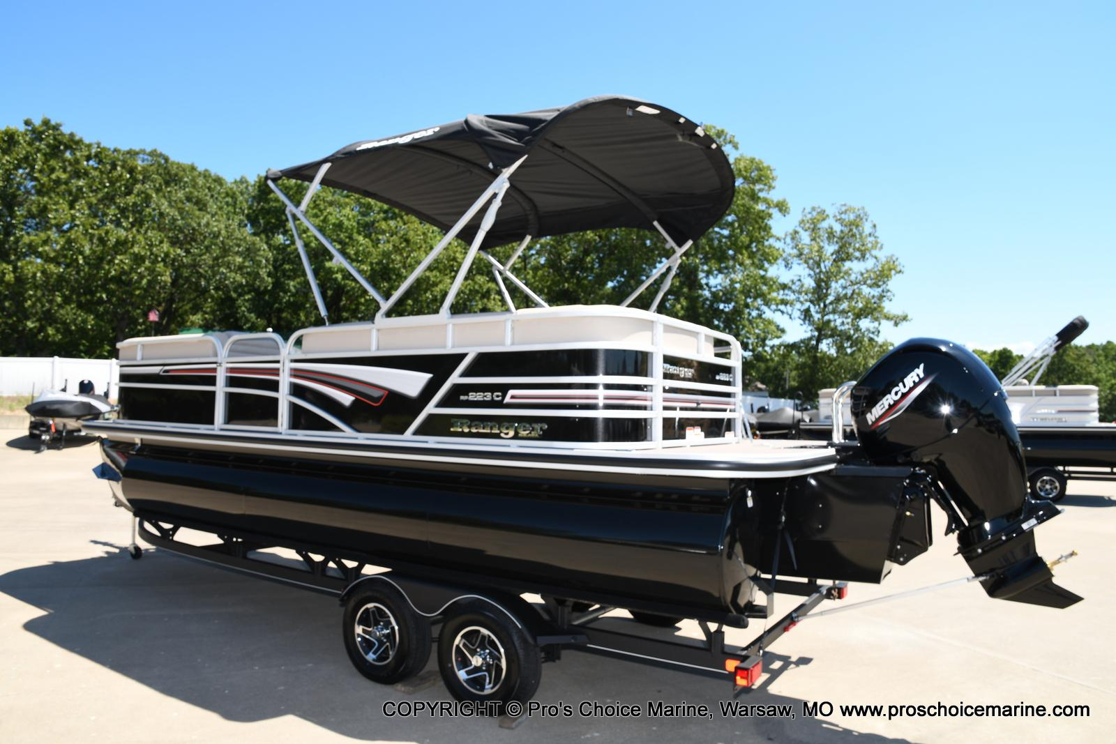 2021 Ranger Boats boat for sale, model of the boat is 223C TRIPLE LOG & Image # 19 of 50