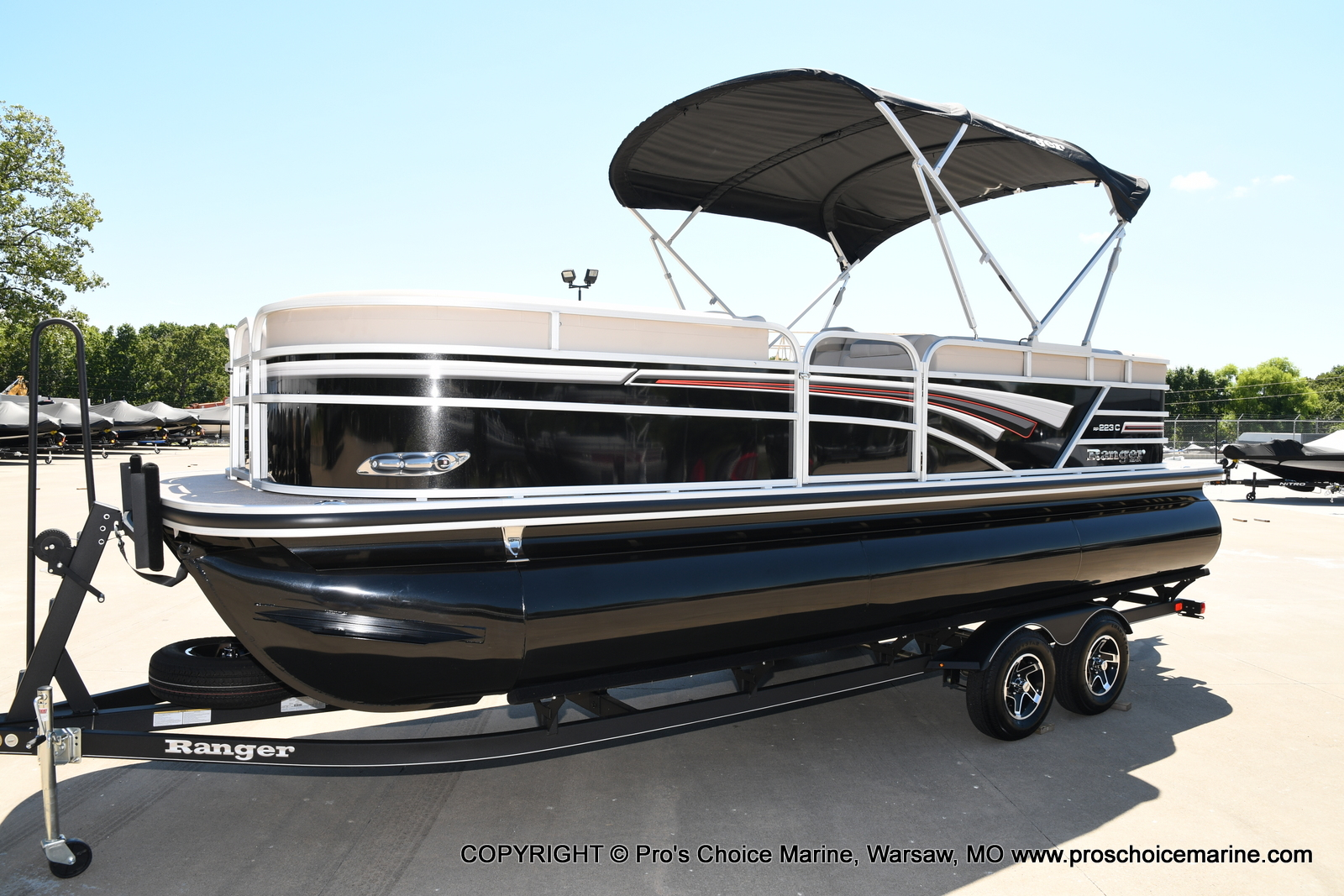 2021 Ranger Boats boat for sale, model of the boat is 223C TRIPLE LOG & Image # 11 of 50