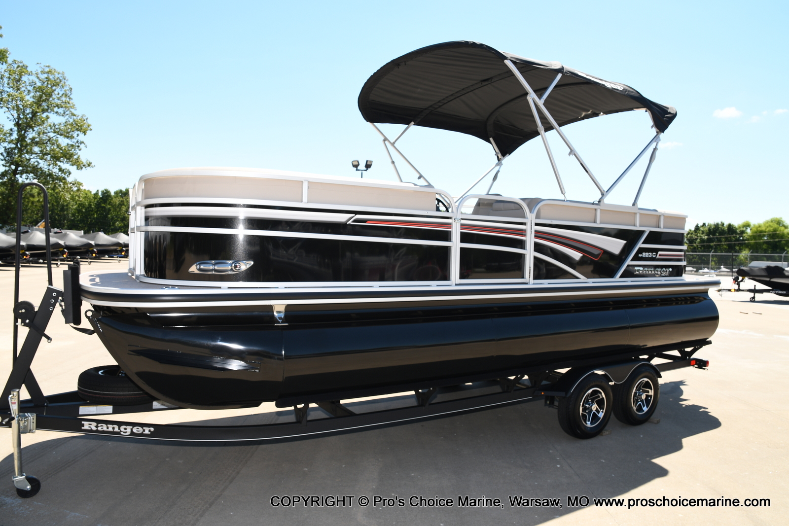 2021 Ranger Boats boat for sale, model of the boat is 223C TRIPLE LOG & Image # 43 of 50