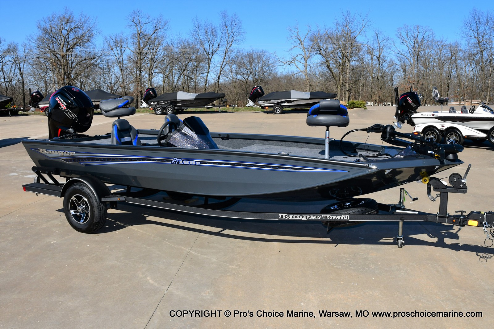 2021 Ranger Boats boat for sale, model of the boat is RT188P w/115HP Pro-XS CT & COIN BOX & Image # 1 of 50
