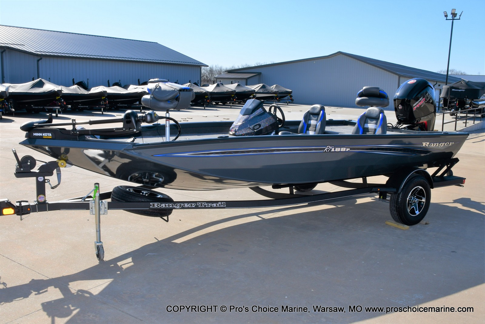 2021 Ranger Boats boat for sale, model of the boat is RT188P w/115HP Pro-XS CT & COIN BOX & Image # 14 of 50