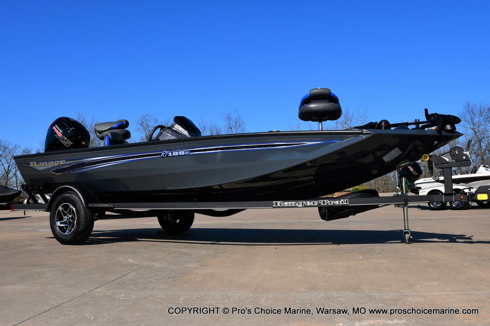 2021 Ranger Boats boat for sale, model of the boat is RT188P w/115HP Pro-XS CT & COIN BOX & Image # 2 of 50