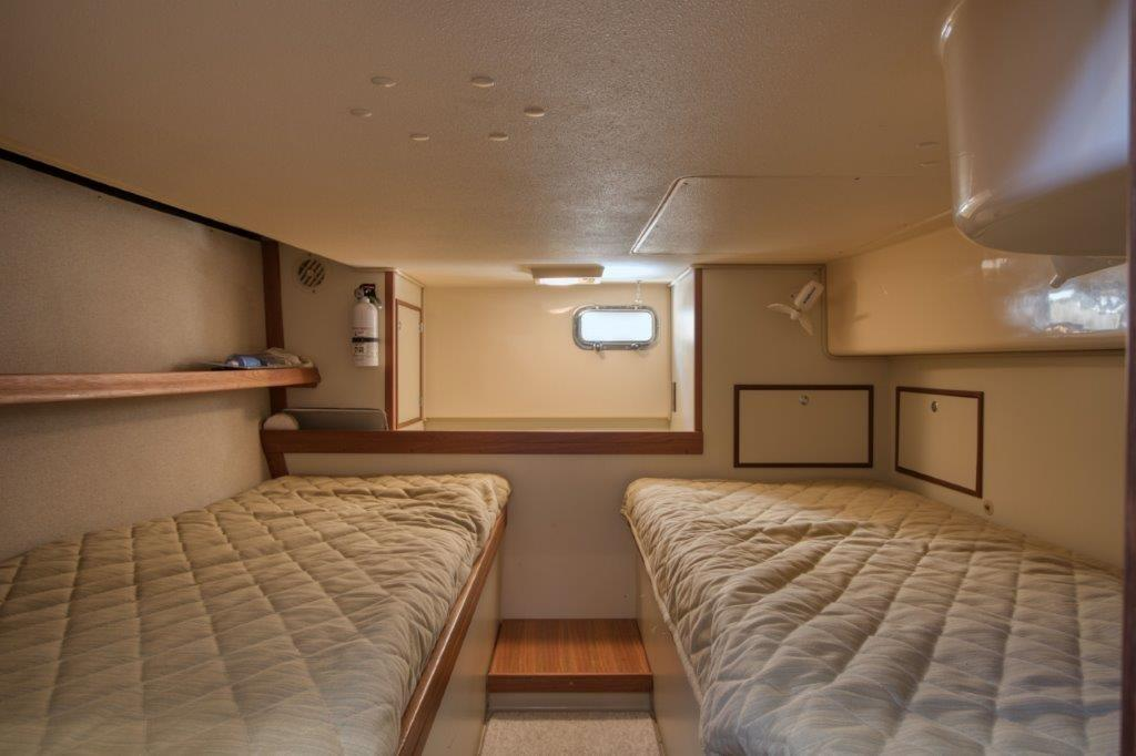 Guest cabin with two berths