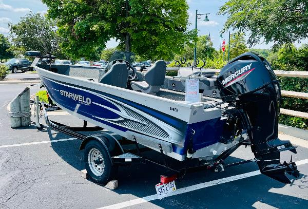 2017 Starweld boat for sale, model of the boat is 1600 Pro SC & Image # 3 of 13
