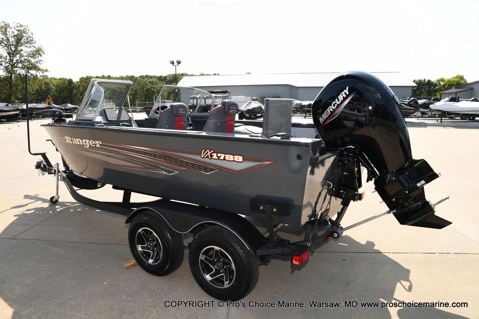 2021 Ranger Boats boat for sale, model of the boat is VX1788 WT w/150HP Mercury 4 Stroke & Image # 2 of 50