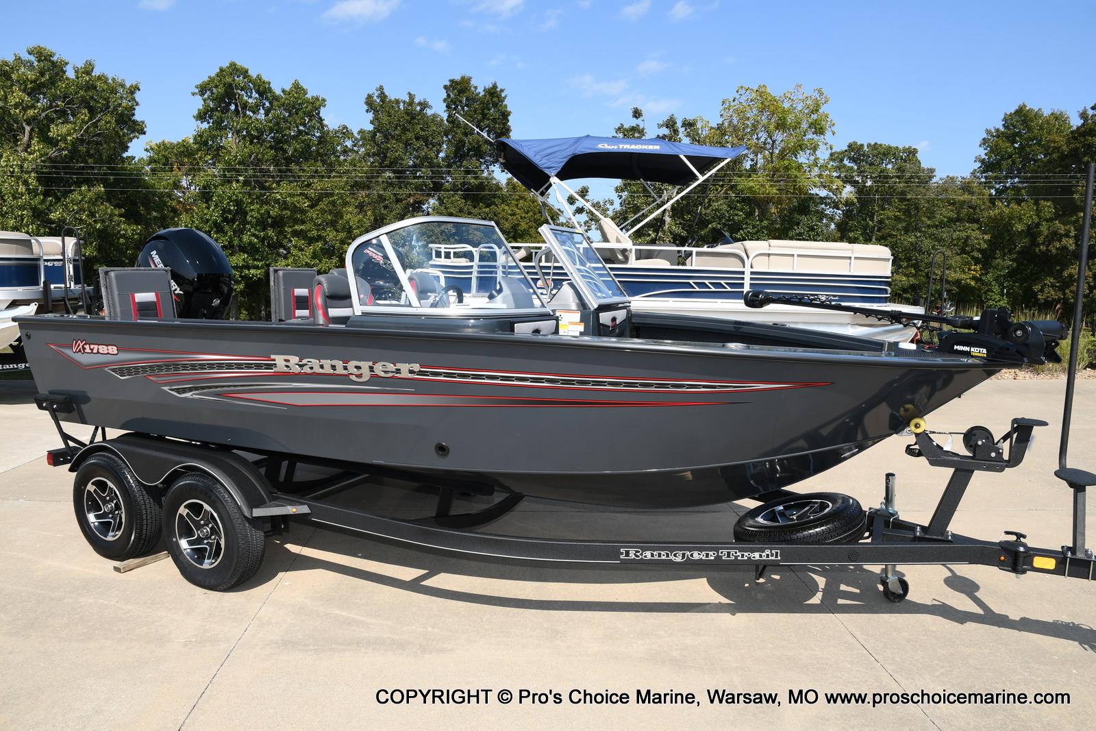 2021 Ranger Boats boat for sale, model of the boat is VX1788 WT w/150HP Mercury 4 Stroke & Image # 25 of 50
