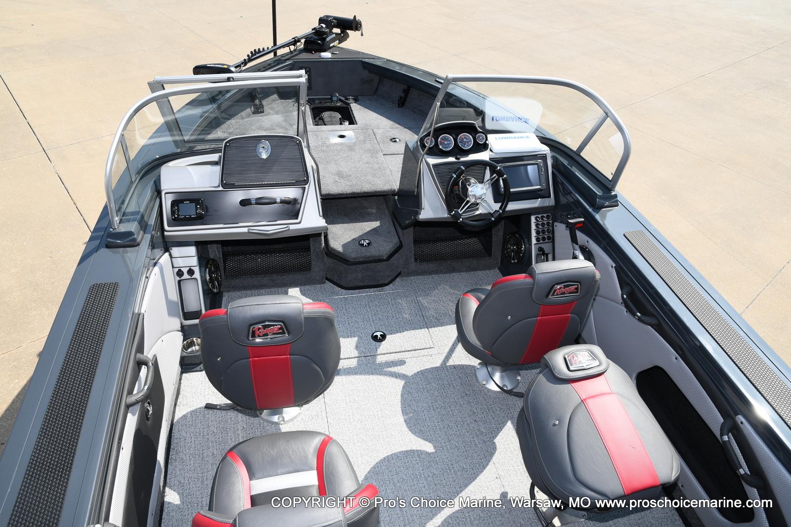 2021 Ranger Boats boat for sale, model of the boat is VX1788 WT w/150HP Mercury 4 Stroke & Image # 31 of 50