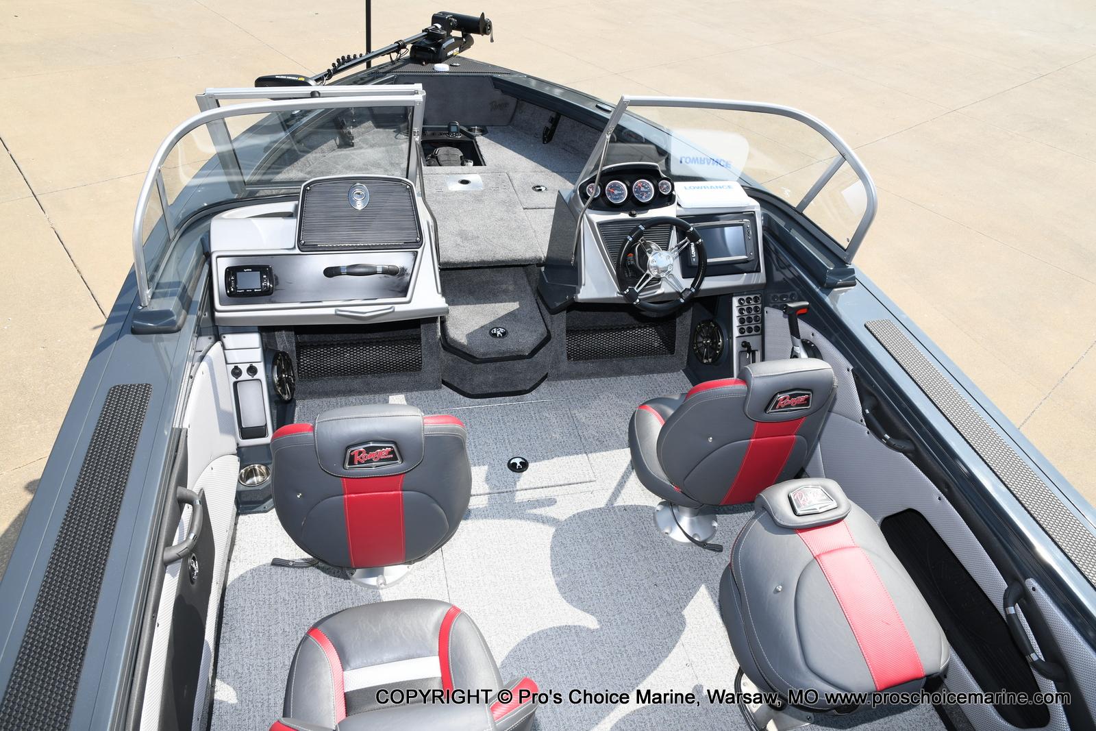 2021 Ranger Boats boat for sale, model of the boat is VX1788 WT w/150HP Mercury 4 Stroke & Image # 40 of 50