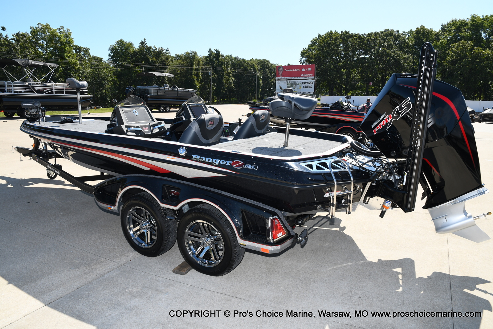 2021 Ranger Boats boat for sale, model of the boat is Z521L Cup Equipped DUAL CONSOLE & Image # 41 of 50