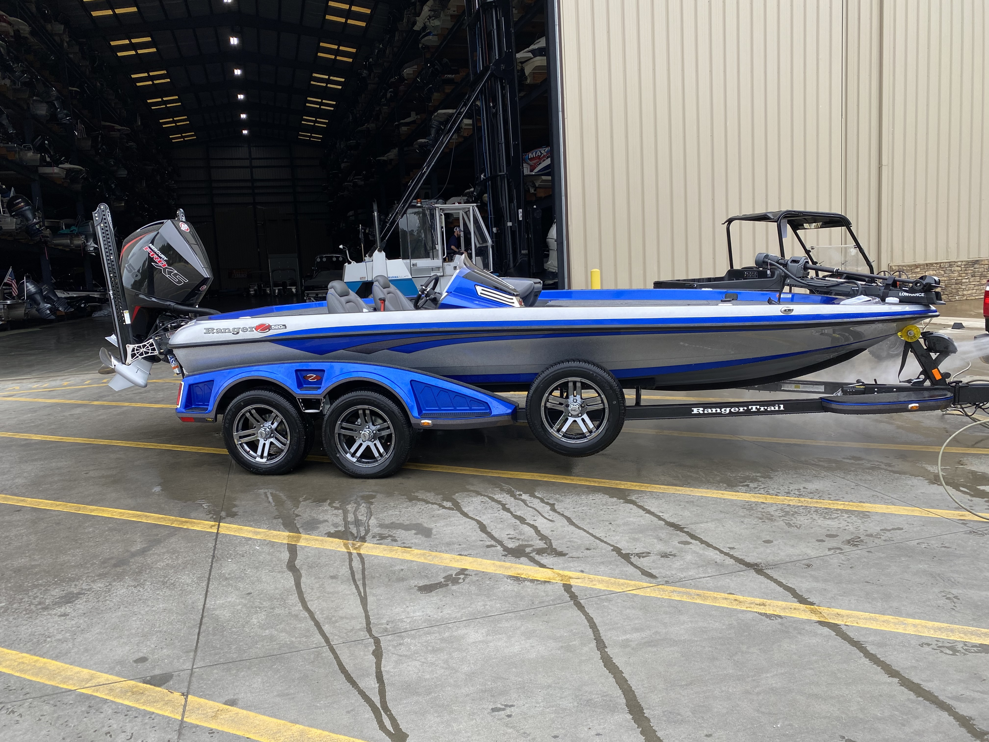 2021 Ranger Boats boat for sale, model of the boat is Z520C & Image # 1 of 6