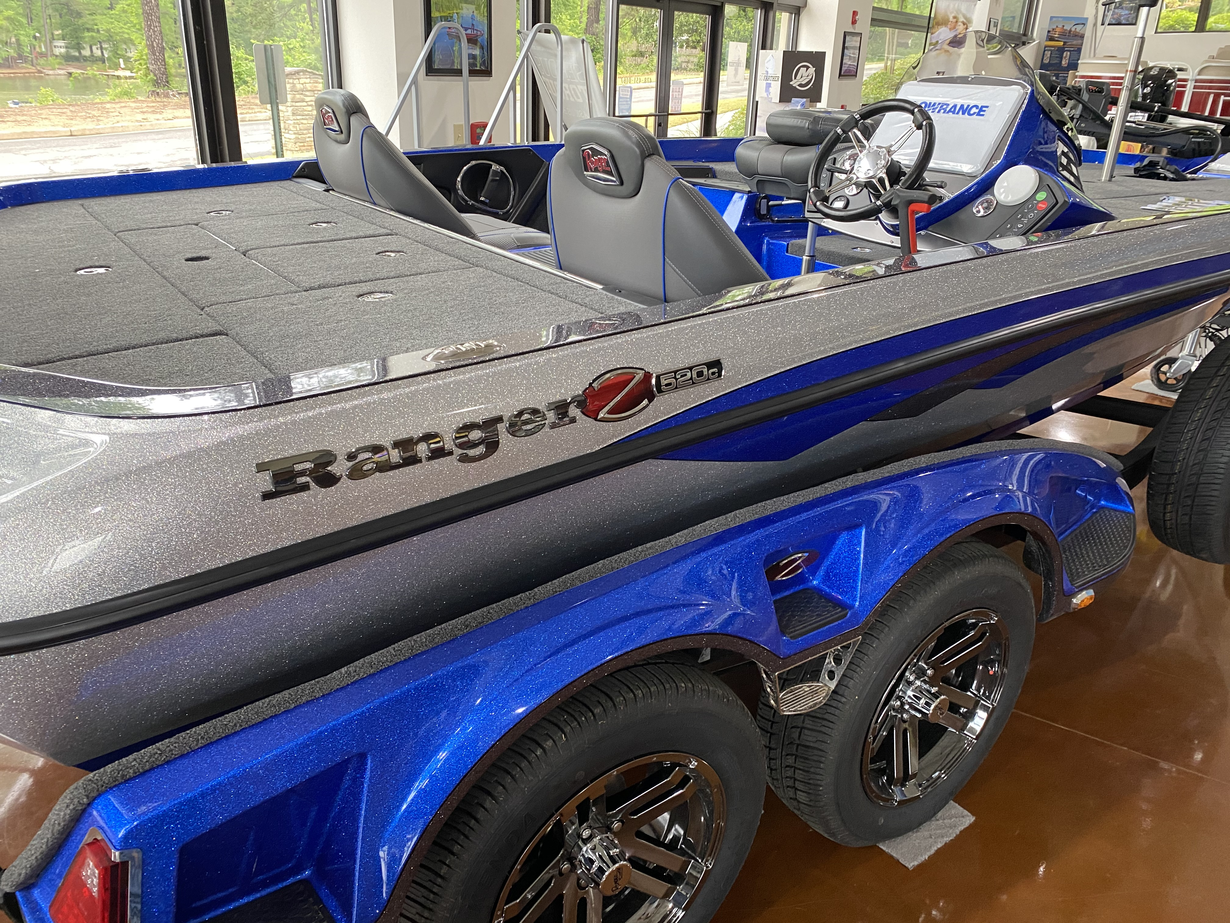 2021 Ranger Boats boat for sale, model of the boat is Z520C & Image # 2 of 6