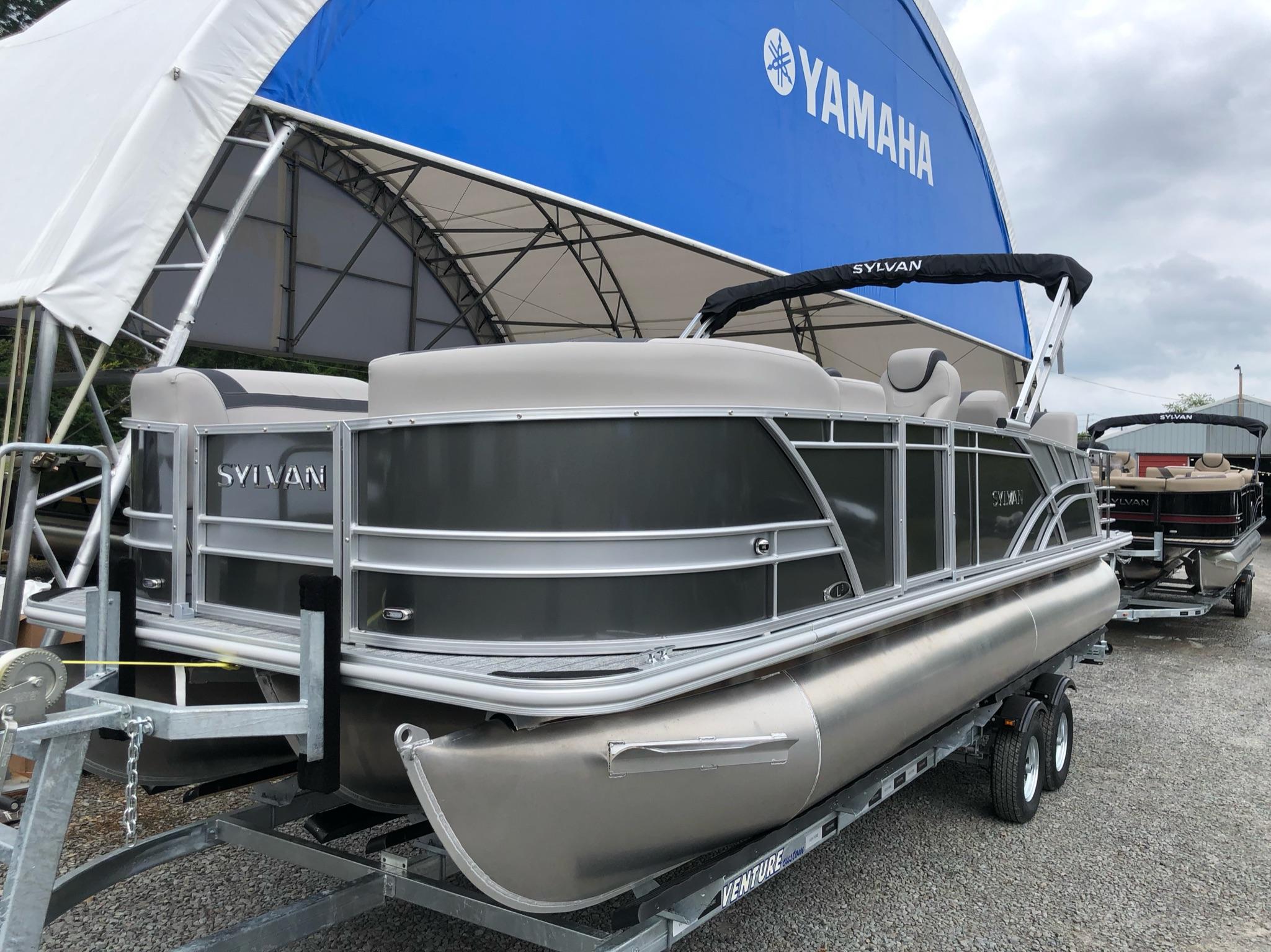 2022 Sylvan L-3 DLZ Tritoon - In Stock