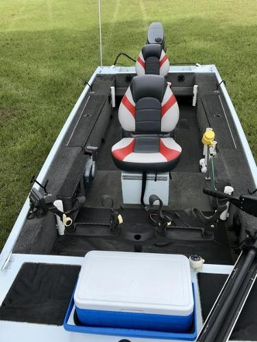 2005 Triton boat for sale, model of the boat is 1653 Stick Steer Boat & Image # 7 of 10