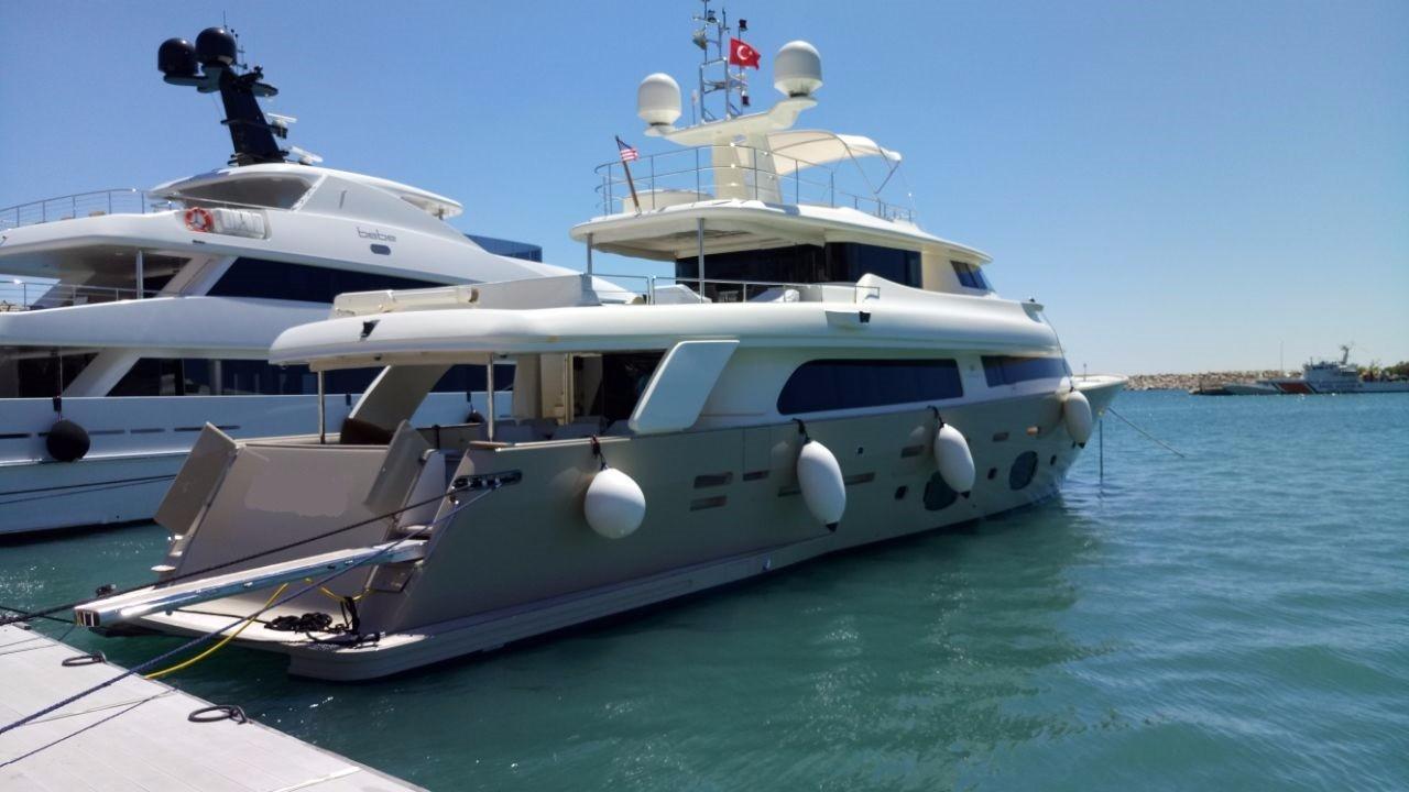 Ferretti Yachts Customline Navetta 33