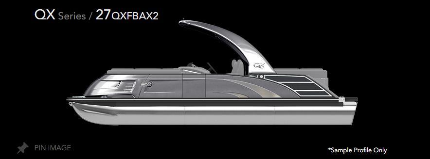 2021 Bennington 27 QXFBAX2 #B8373A inventory image at Sun Country Inland in Irvine