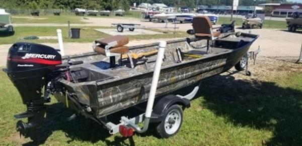 2016 War Eagle boat for sale, model of the boat is 1542  All Welded & Image # 1 of 4