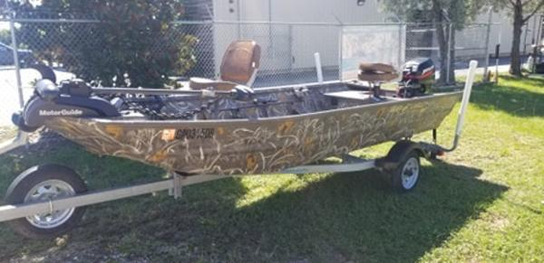 2016 War Eagle boat for sale, model of the boat is 1542  All Welded & Image # 3 of 4