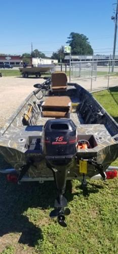 2016 War Eagle boat for sale, model of the boat is 1542  All Welded & Image # 4 of 4