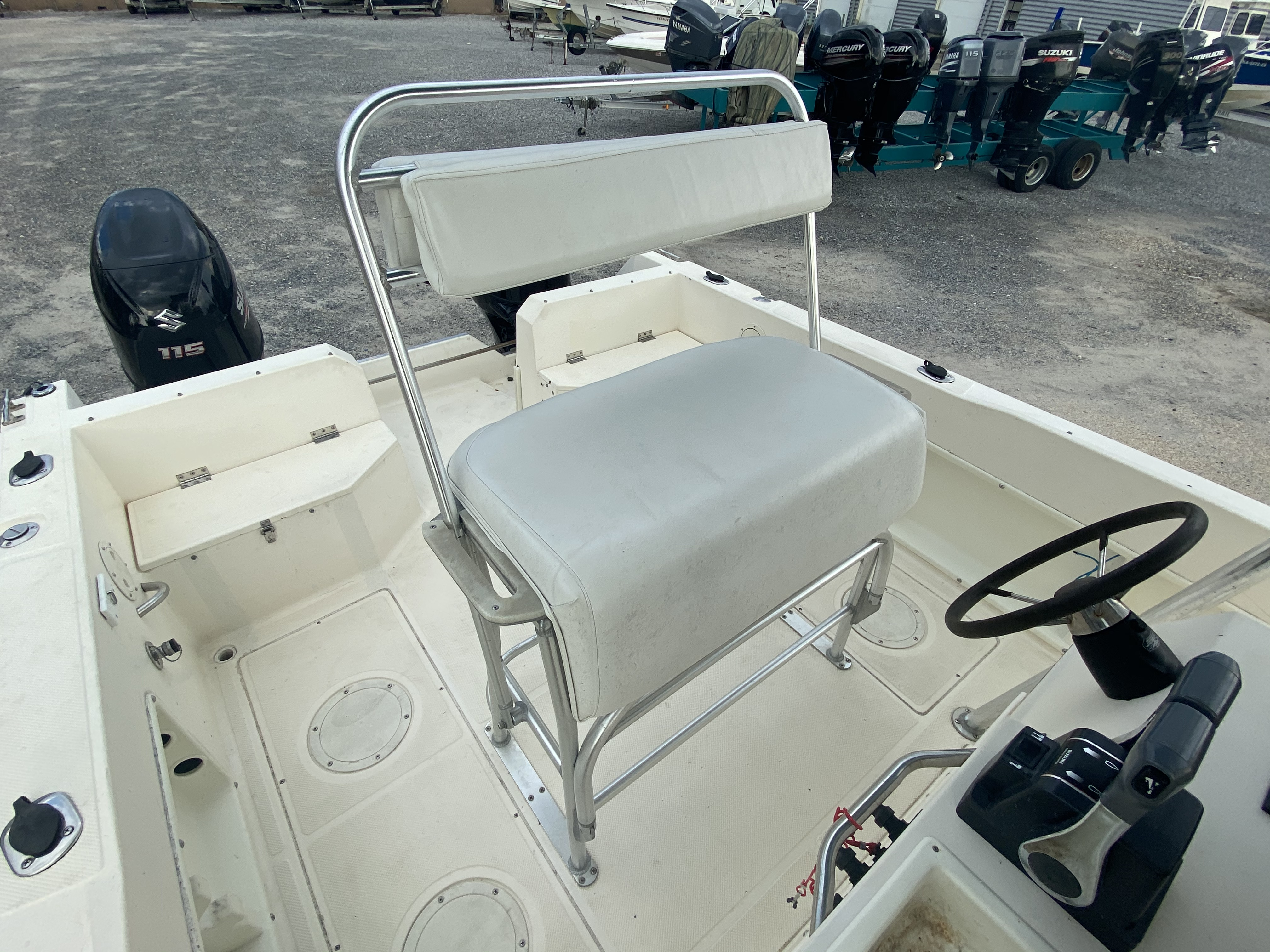 1996 Sea Cat boat for sale, model of the boat is 215 SL1 & Image # 11 of 25