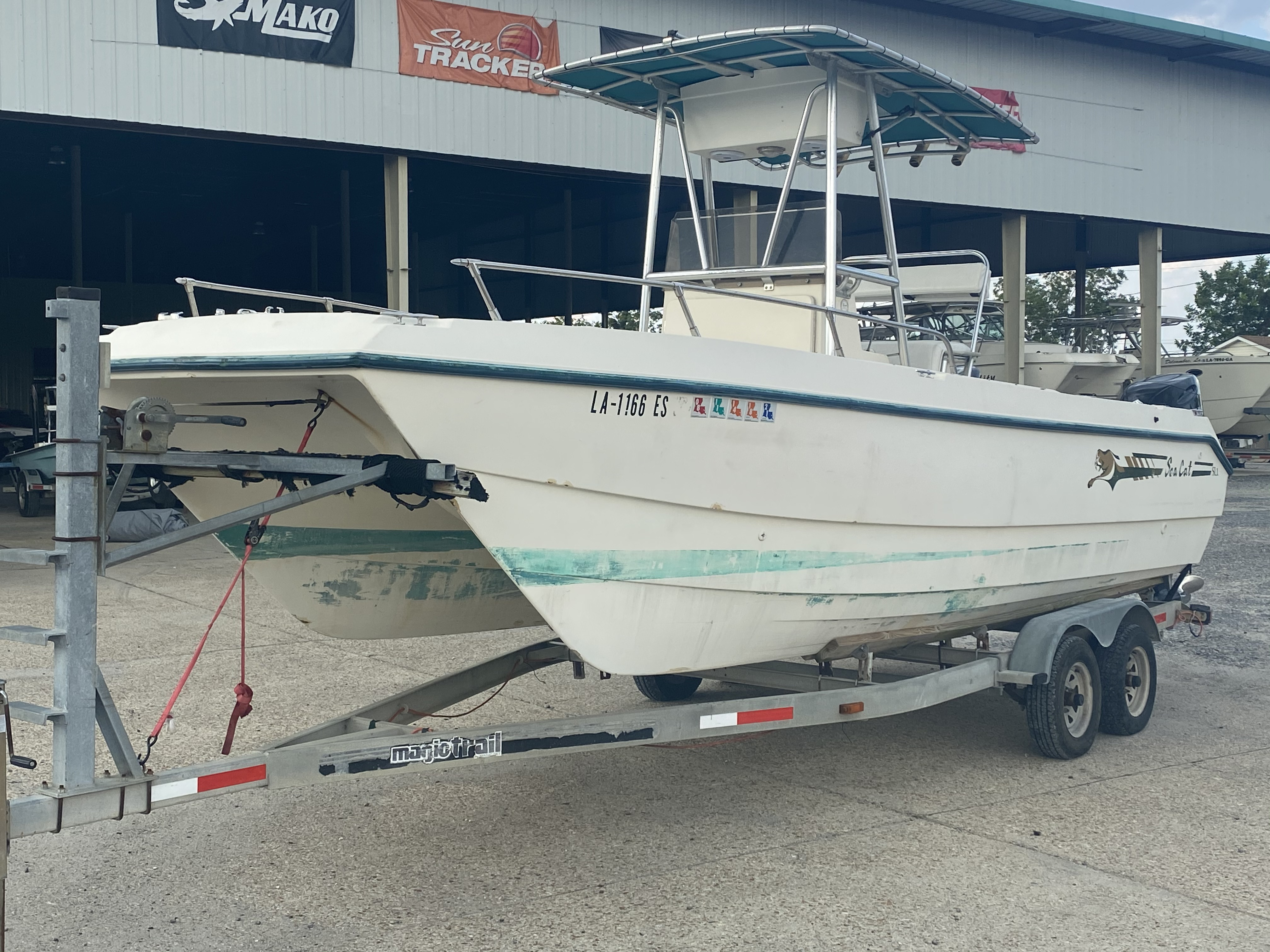 1996 Sea Cat boat for sale, model of the boat is 215 SL1 & Image # 24 of 25