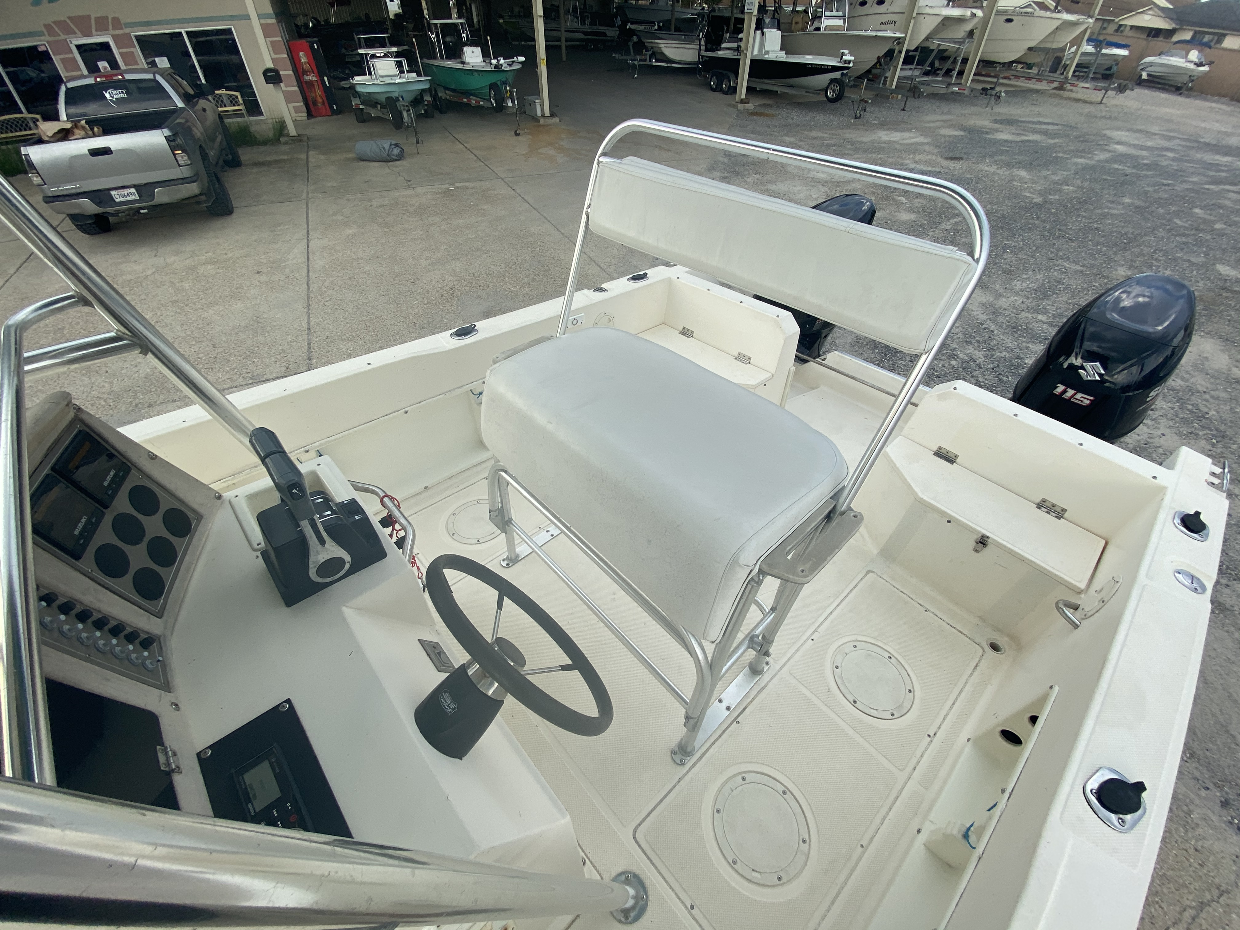 1996 Sea Cat boat for sale, model of the boat is 215 SL1 & Image # 25 of 25