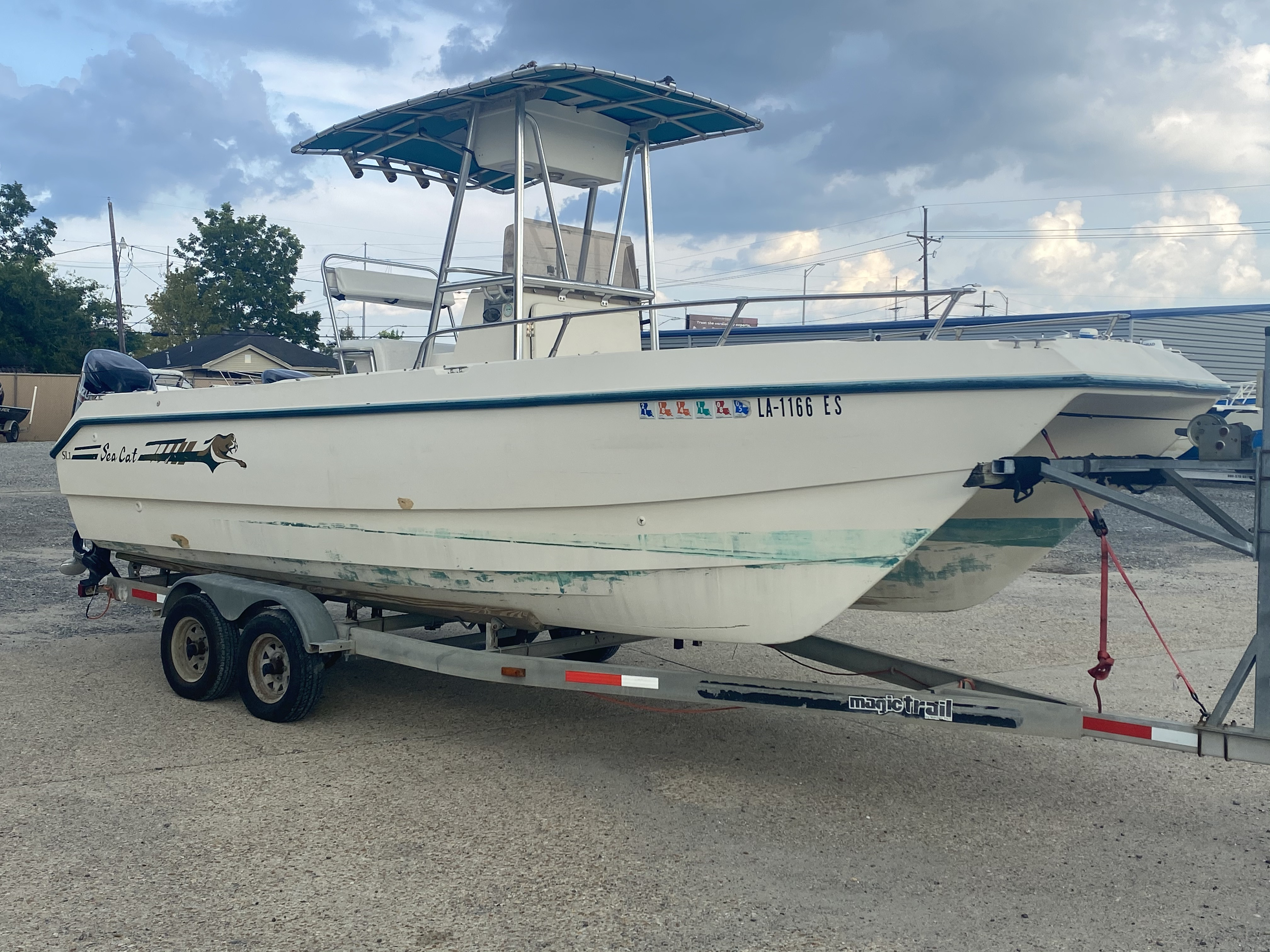 1996 Sea Cat boat for sale, model of the boat is 215 SL1 & Image # 17 of 25