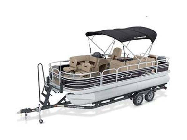2022 Sun Tracker boat for sale, model of the boat is FISHIN' BARGE® 20 DLX & Image # 1 of 1