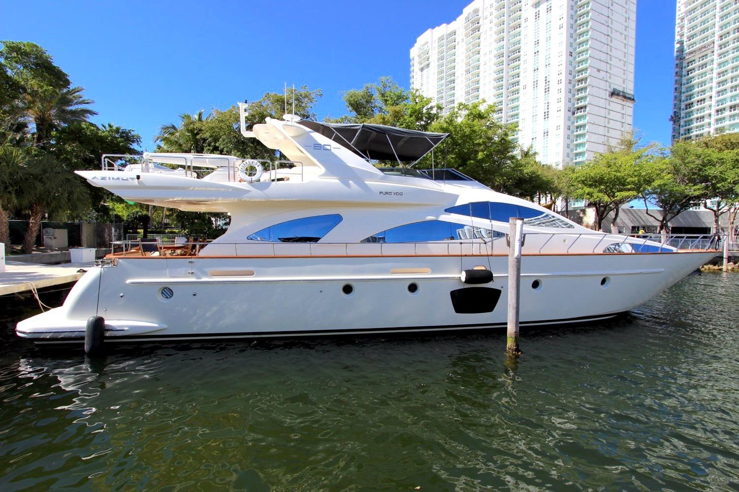 2008 Azimut 80 Flybride for sale in Aventura