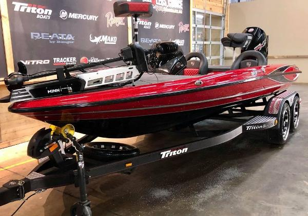 2021 Triton boat for sale, model of the boat is 189 TRX & Image # 7 of 18