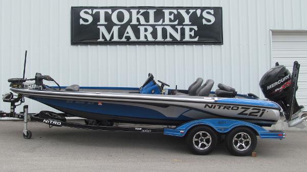 2016 Nitro boat for sale, model of the boat is Z21 & Image # 1 of 11