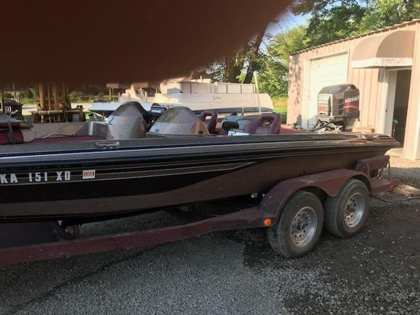 1995 Pro Craft boat for sale, model of the boat is 210DC & Image # 2 of 12