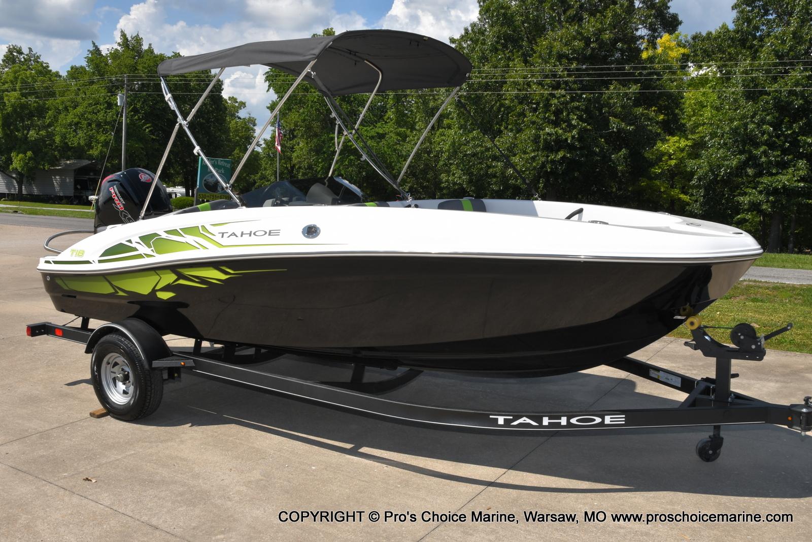 2022 TAHOE T18 W/115HP MERCURY PRO XS 4 STROKE for sale