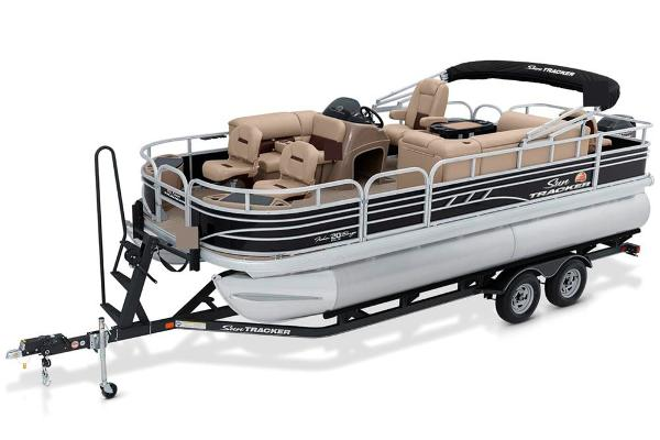 2022 Sun Tracker boat for sale, model of the boat is Fishin' Barge 20 DLX & Image # 4 of 52