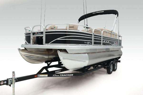 2021 Sun Tracker boat for sale, model of the boat is Fishin' Barge 20 DLX & Image # 10 of 51