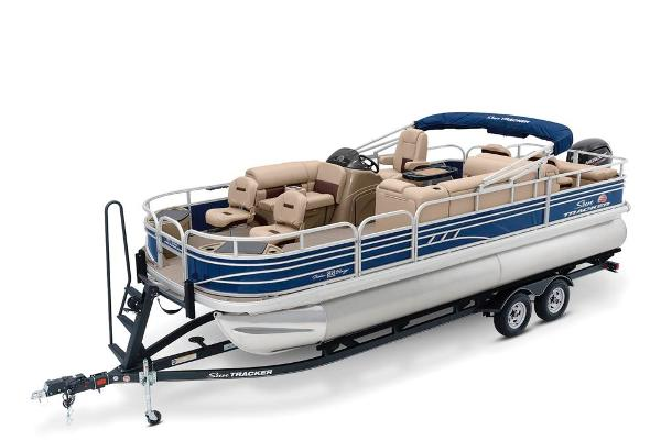 2021 Sun Tracker Fishin' Barge 22 DLX