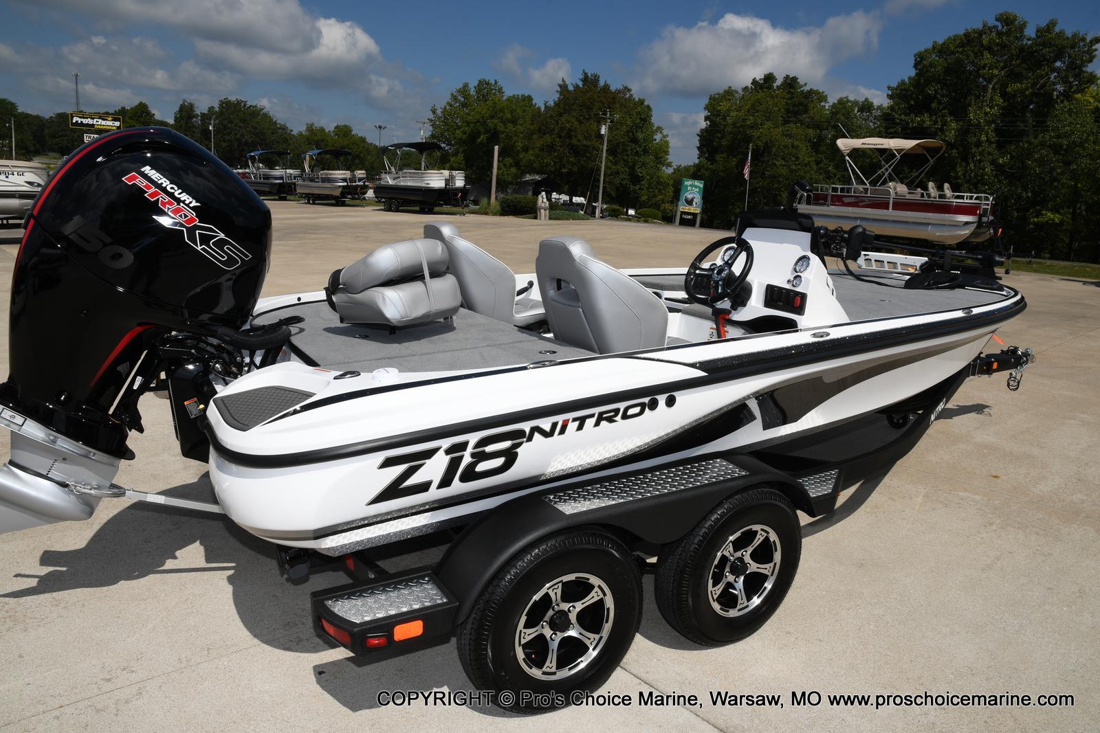 2021 Nitro boat for sale, model of the boat is Z18 & Image # 24 of 50