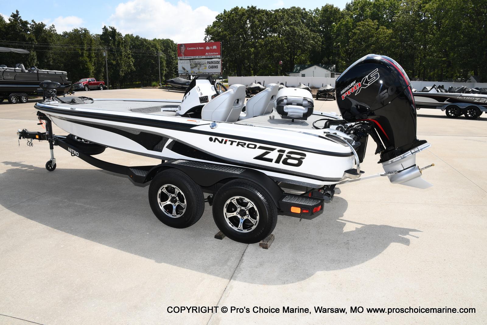 2021 Nitro boat for sale, model of the boat is Z18 & Image # 25 of 50