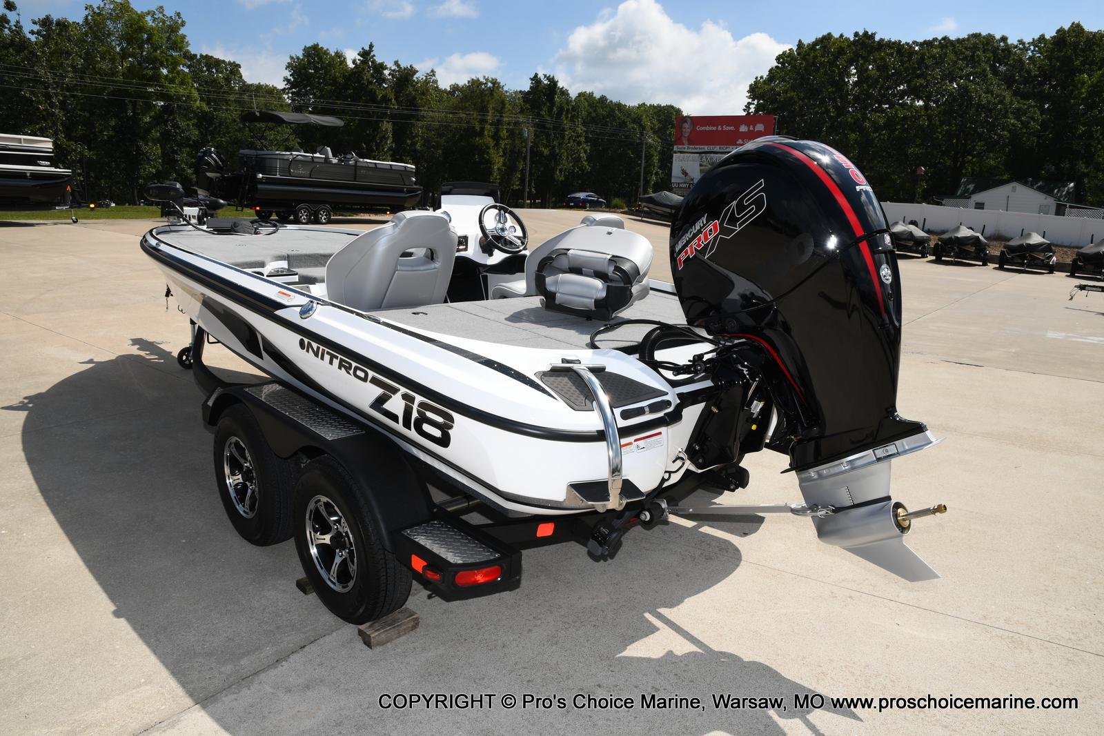 2021 Nitro boat for sale, model of the boat is Z18 & Image # 4 of 50