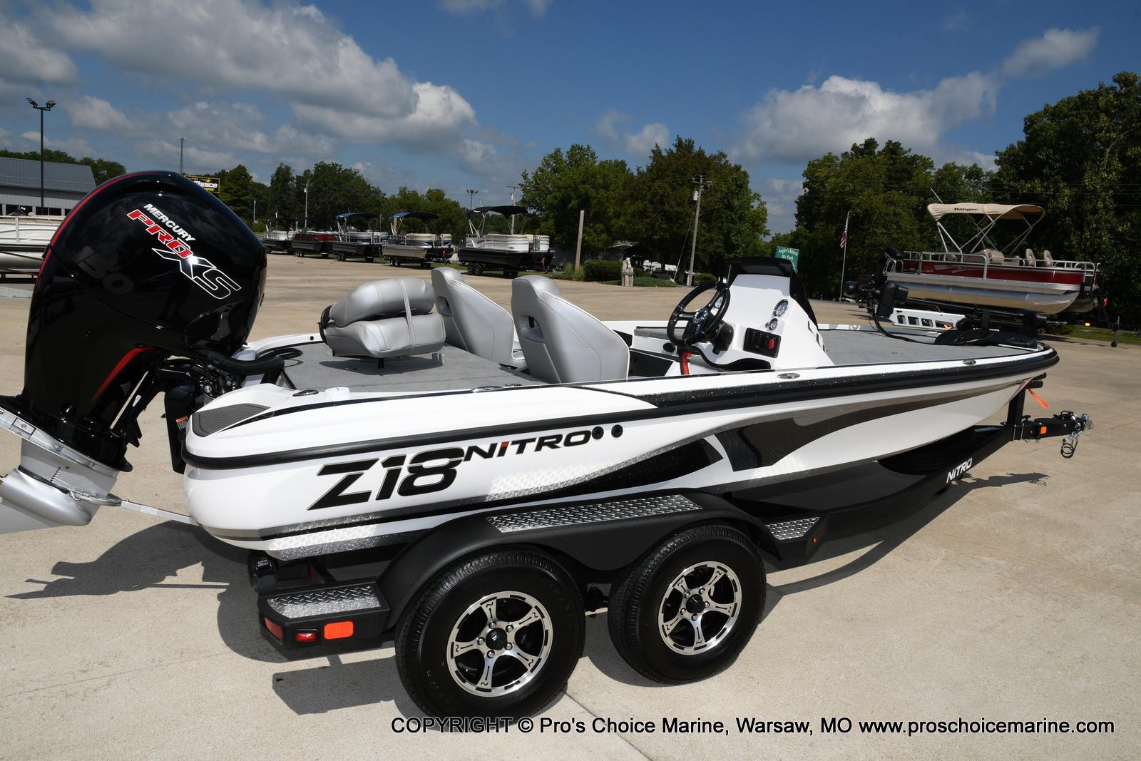 2021 Nitro boat for sale, model of the boat is Z18 & Image # 45 of 50