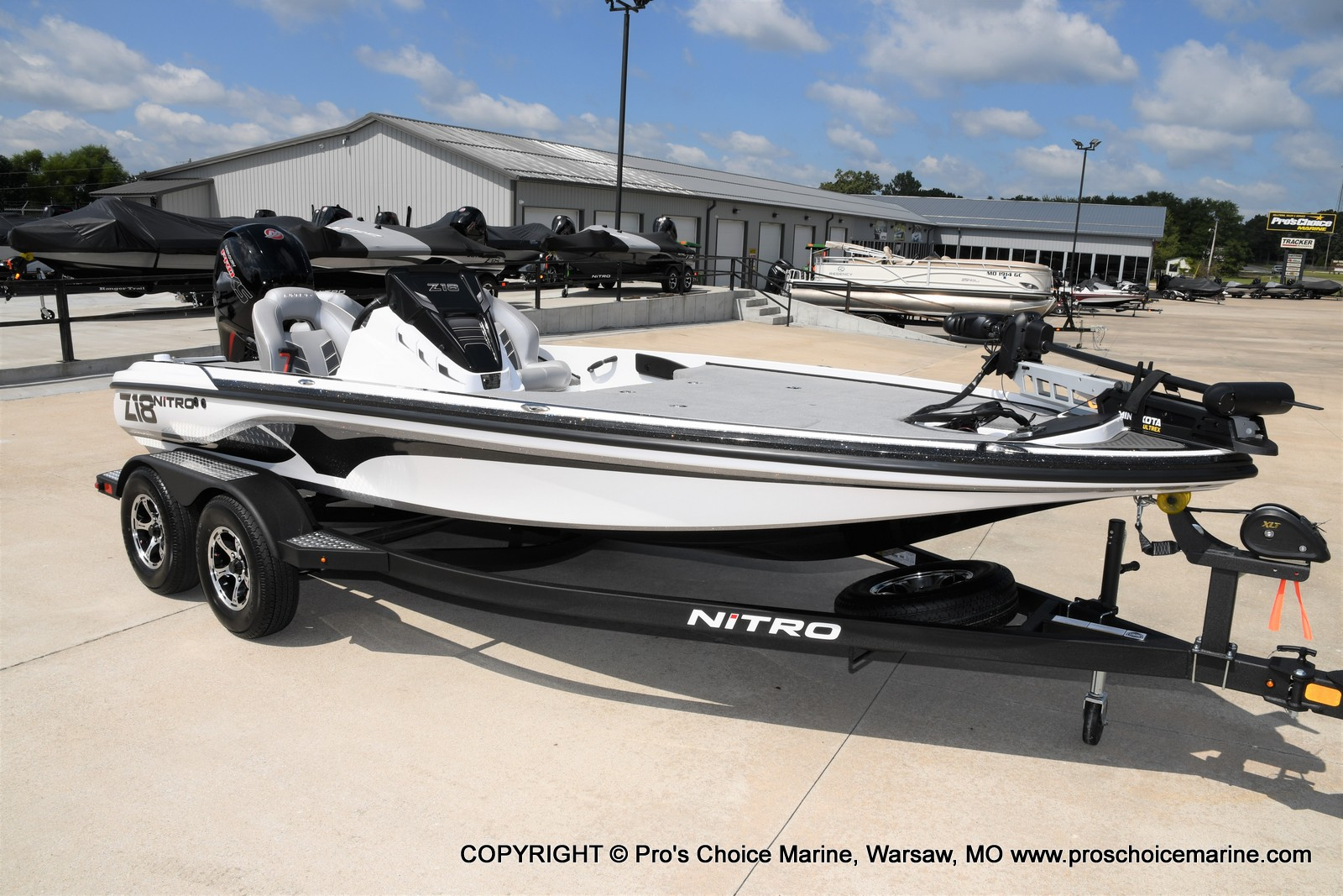 2021 Nitro boat for sale, model of the boat is Z18 & Image # 1 of 50