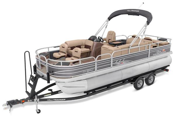 2021 Sun Tracker boat for sale, model of the boat is Fishin' Barge 22 XP3 & Image # 5 of 71